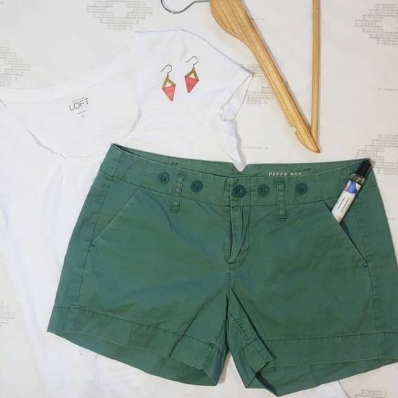 Anthropologie Pants - Anthropologie green Paper Boy shorts size 2